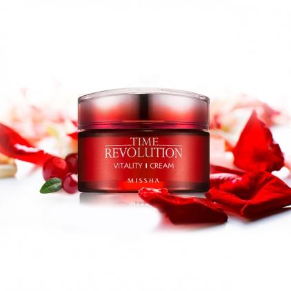 MISSHA Time Revolution Vitality  Cream (krem rewitalizujący do twarzy)50ml