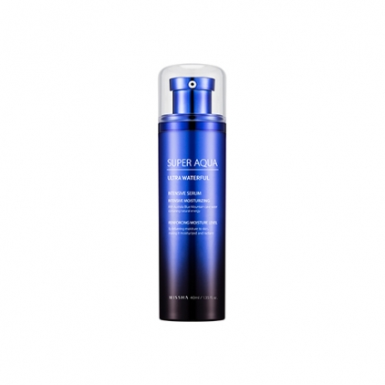 MISSHA Super Aqua Ultra Waterful Intensive Serum (ultra nawilżające serum dom twarzy) 40ml