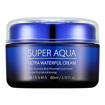 MISSHA Super Aqua Ultra Waterful Cream (ultra nawilżający krem do twarzy) 80ml
