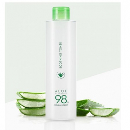 HOLIKA HOLIKA ALOE ESSENTIAL 98% SOOTHING TONER - 300ml