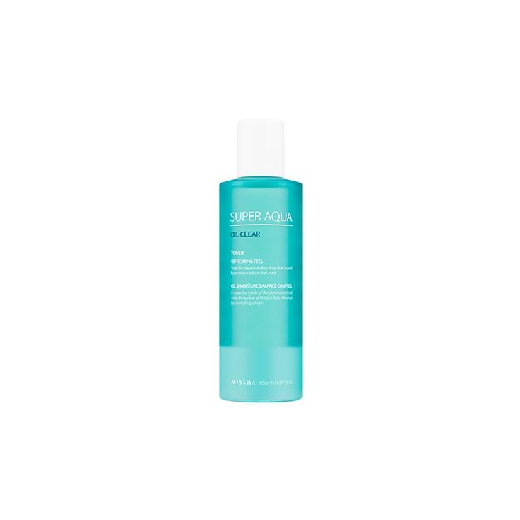 MISSHA Super Aqua Oil Clear Toner 180ml