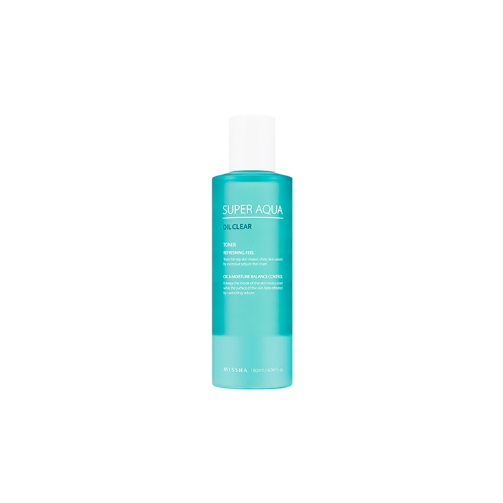 MISSHA Super Aqua Oil Clear Toner 180ml
