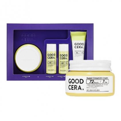 Holika Holika Skin and Good Cera Super Super Ceramide Cream Gift Set -  zestaw z kremem silnie nawilżającym