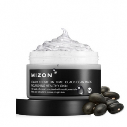MIZON Enjoy Fresh-On Time Black Bean Mask Nourishing (maska odżywcza) He                          althy skin 100ml