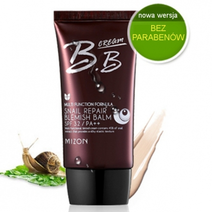 MIZON Snail Repair Blemish Balm B.B Cream SPF 32/PA++ No.1 (krem BB z filtratem śluzu ślimaka)  50ml