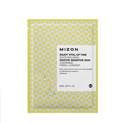 MIZON Enjoy Vital-Up Time Soothing Mask (maska w płacie wygładzająca) 23ml