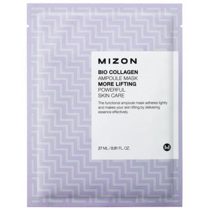 MIZON Bio Collagen Ampoule Mask (maska w płacie silne liftingująca) 27ml