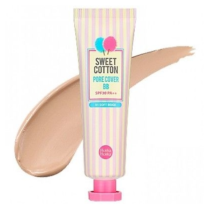 Holika Holika Sweet Cotton Pore Cover BB 01  30ml