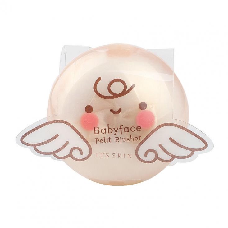 It'S SKIN Babyface Petit Blusher Romantic Rose 4g