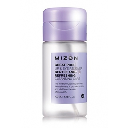 MIZON Great Pure Lip & Eye Remower (płyn do demakijażu oczu i ust) 100ml