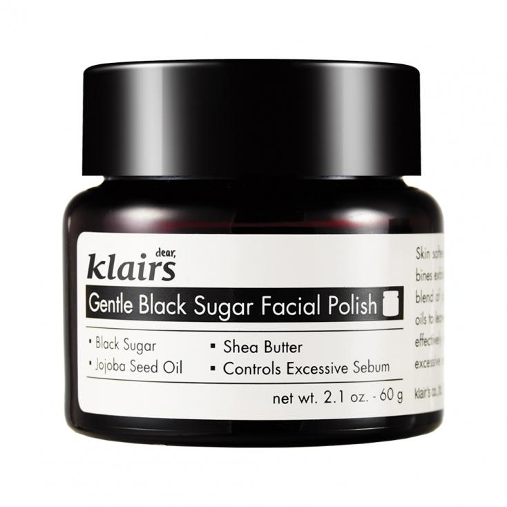 KLAIRS Gentle Black Sugar Facial Polish (peeling do twarzy) 60g