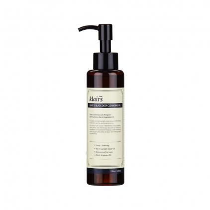 KLAIRS Gentle Black Deep Cleansing Oil (olejek do mycia twarzy) 150ml
