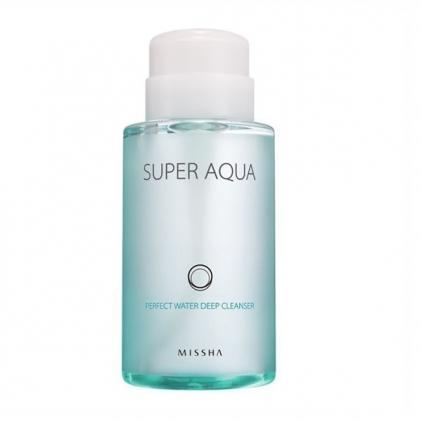 MISSHA SUPER AQUA Perfect Water Deep Cleanser (woda micelarna do oczyszczania twarzy) 320ml