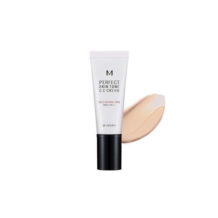 MISSHA M Perfect Skin Tone C. C Cream (krem C.C wyrównujący koloryt cery)  40ML