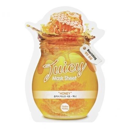 HOLIKA HOLIKA  Honey Juicy Mask Sheet (maska w płacie odżywczo-nawilżąjąca)