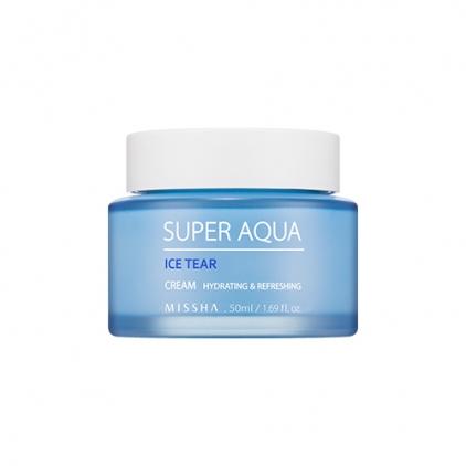 MISSHA SUPER AQUA ICE TEAR Cream (krem intensywnie nawilżający) 50ml