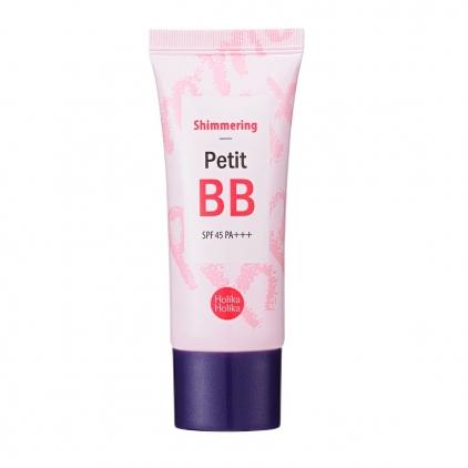 HOLIKA HOLIKA Petit BB  Shimmering SPF 30 PA++ (krem BB rozświetlajacy/baza rozświetlająca do twarzy) 30ml