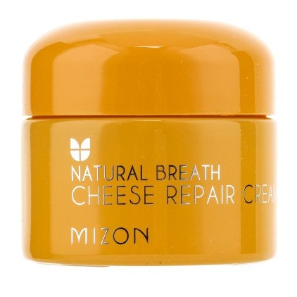MIZON Natural Breath Cheese Repair Cream (krem serowy naprawczy i odżywczy  do twarzy) 50ml