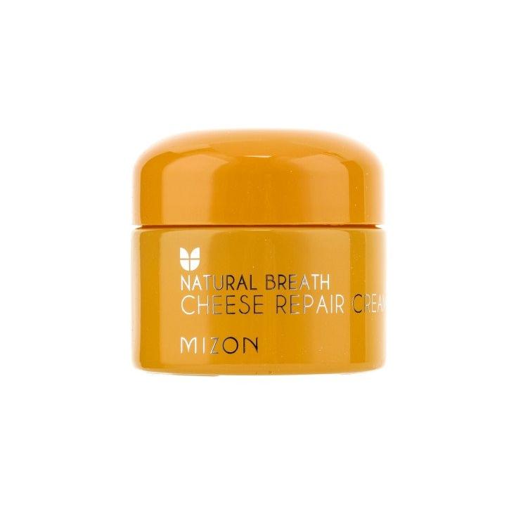 MIZON Natural Breath Cheese Repair Cream (krem serowy naprawczy i odżywczy  do twarzy) 50ml