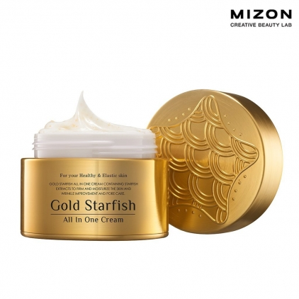 MIZON Gold Starfish All In One Cream (krem regenerujący do twarzy z ekstraktem z rozgwiazdy i złotem) 50ml