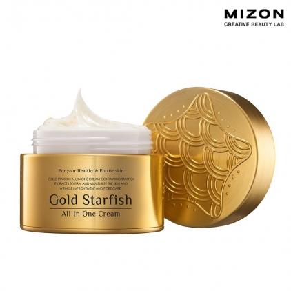 MIZON Gold Starfish All In One Cream (krem regenerujący do twarzy z ekstraktem z rozgwiazdy i złotem) 50ml