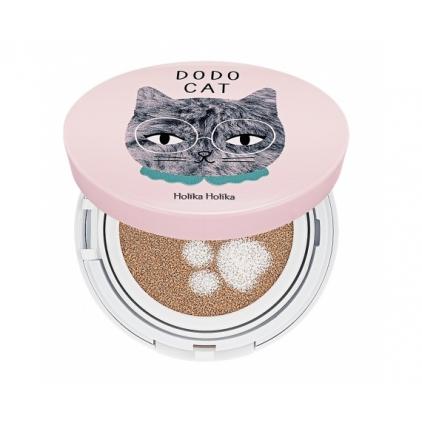HOLIKA HOLIKA Face 2 Change DODO CAT Glow Cushion BB (krem BB i rozświetlacz w gąbeczce)