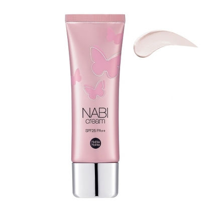 HOLIKA HOLIKA Nabi Cream SPF25 PA++ VITALITY (krem rozświetlający do twarzy-różowy) 50g