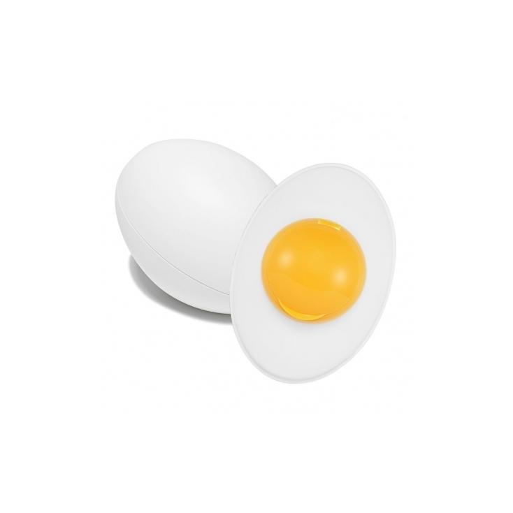 HOLIKA HOLIKA Sleek Egg Skin Peeling Gel (delikatny peeling do twarzy z ekstraktem z żółtka jajka) 140ml