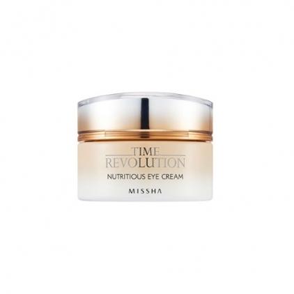 MISSHA Time Revolution Nutritious Eye Cream (odżywczo-nawilżający krem pod oczy na bazie czarnej soczewicy) 25ml
