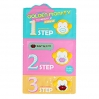 HOLIKA HOLIKA Golden Monkey Glamour Lip 3-step kit (zestaw do ust trójstopniowy)  5,5g