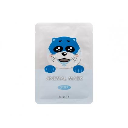 MISSHA  Animal Mask Otter ( maseczka bawełniana z hydrożelem nawilżająca WYDRA)