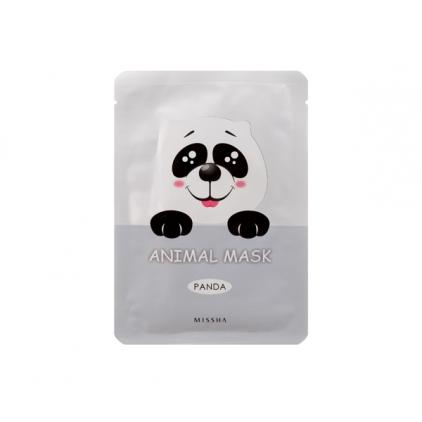 MISSHA  Animal Mask Panda ( maseczka bawełniana z hydrożelem rozjaśniająca PANDA)