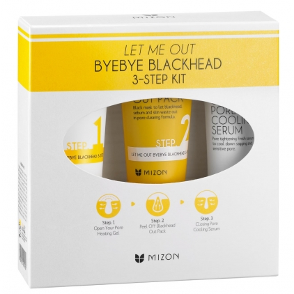 MIZON - LET ME OUT BYEBYE BLACK HEAD 3-SET KIT