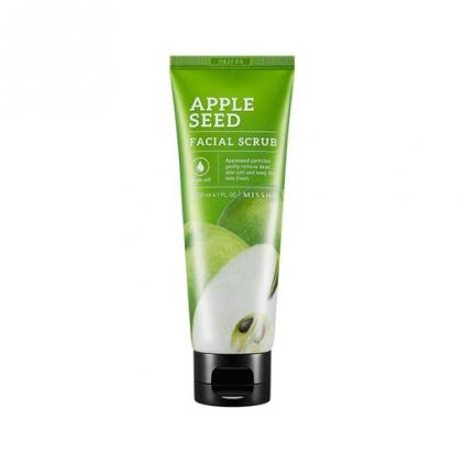 MISSHA Apple Seed Facial Scrub (peeling do twarzy na bazie pestek jabłek) -120ml