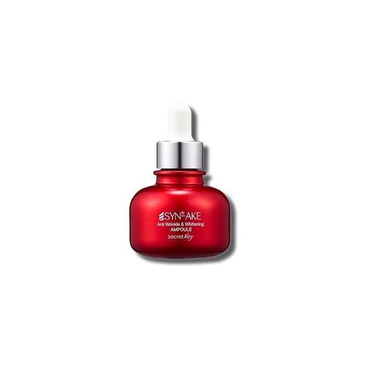 SECRET KEY - SYN-AKE Anti Wrinkle & Brightening Ampoule Przeciwzmarszczkowa ampułka nawilżająca - 30ml