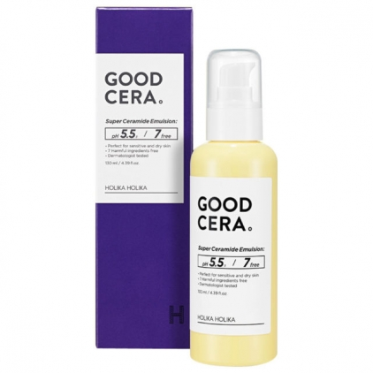 Holika Holika Skin and Good Cera Super Ceramide Emulsion 130ml - Emulsja intensywnie nawilżająca z ceramidami