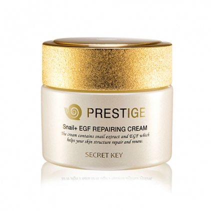Secret Key Prestige Cream Krem ze śluzem ślimaka – 50g