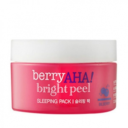 ETUDE HOUSE Berry AHA! Bright Peel Sleeping Pack Maseczka nocna -100ml