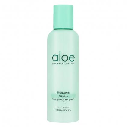 HOLIKA HOLIKA Soothing Emulsion Aloes Essential 90% ( łagodząca emulsja nawilżająca z Aloesem 90% ) 200ml