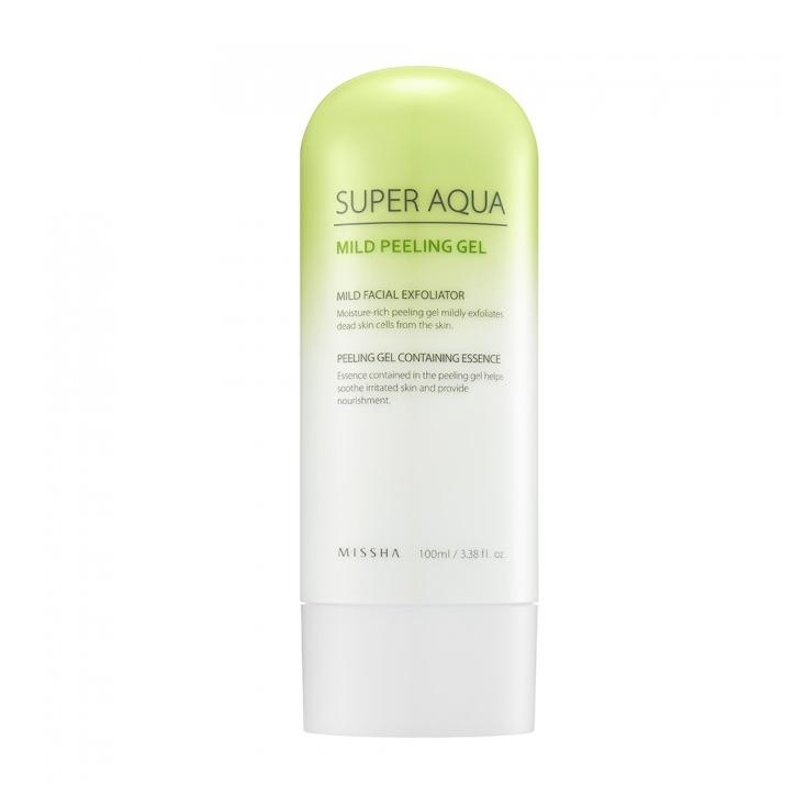 MISSHA Super Aqua Mild Peeling Gel - peeling enzymatyczny do skóry wrażliwej - 100ml