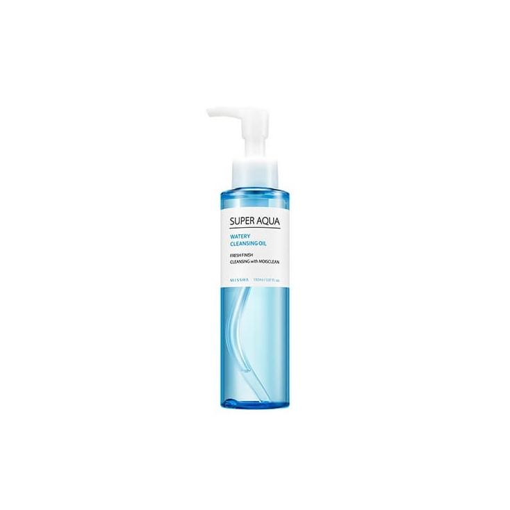 MISSHA Super Aqua Watery Cleansing Oil Lekki, delikatny olejek oczyszczający makijaż -150 ml