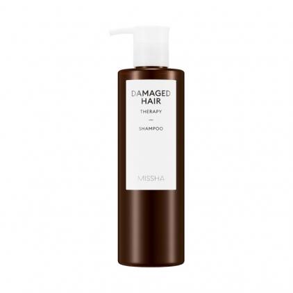 Missha Damaged Hair Therapy Shampoo – Szampon odżywczo-wygładzający dla włosów zniszczonych - 400ml