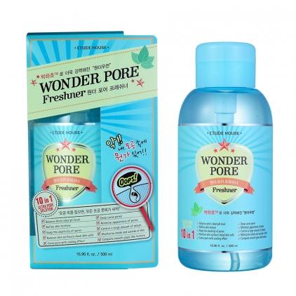 ETUDE HOUSE Wonder Pore Freshner 10 in 1 (ściągająco- nawilżający tonik 10 w 1) 250ml