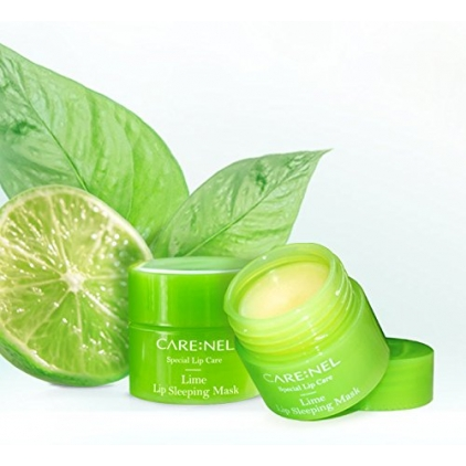 CARE:NEL  - Lip Sleeping Mask Lime ( Maska do ust  wygładzająca na noc z ekstraktem z limonki) - 5g