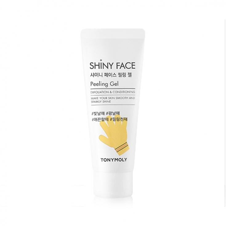 TONY MOLY Shiny Face Peeling Gel Peeling rozświetlający do twarzy 80ml