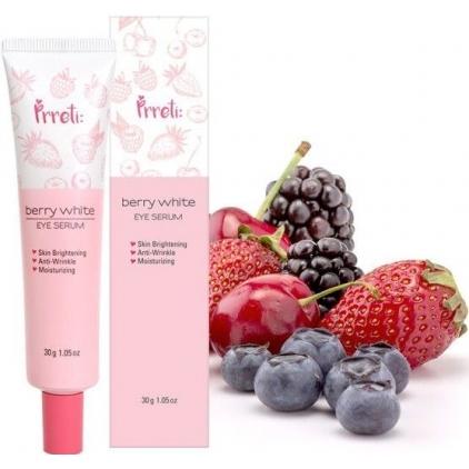 PRRETI Berry White Eye Serum -Serum rozjaśniające  pod oczy z ekstraktami owocowymi 30g