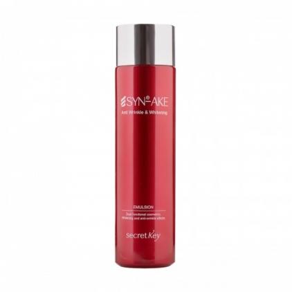 SECRET KEY SYN-AKE Anti Wrinkle & Whitening, Emulsja przeciwzmarszczkowa i wybielająca do twarzy - 150ml