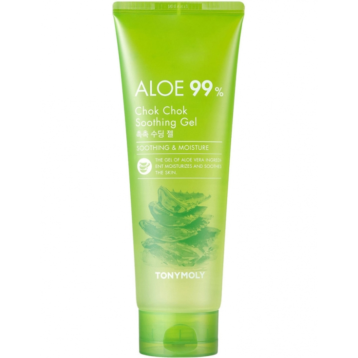 TONY MOLY Aloe 99% Chok Chok Soothing, Gel Żel kojący – 250ml