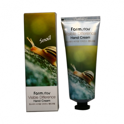 Farm Stay Visible Difference Hand Cream  Snail - Krem do rąk - 100ml