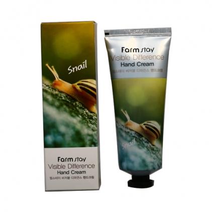 Farm Stay Visible Difference Hand Cream  Snail - Krem do rąk  z filtratem śluzu ślimaka- 100g